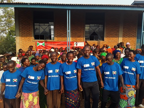 Youth4Youth Initiative to prevent drug abuse and promote healthy and safe mental and physical development in Burundi